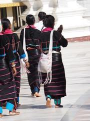 Shwedagon en Rangun (Myanmar)