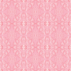 seamless background delicate pink vegetative pattern