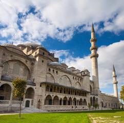 Exterior of  Suleymaniye mosque,  Istanbul