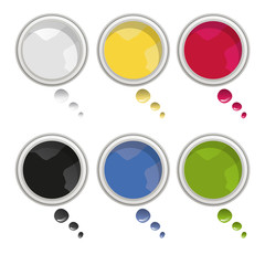 Pots de peinture Idees