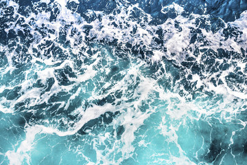 Sea wave foam background