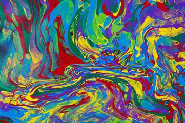 paint mixed