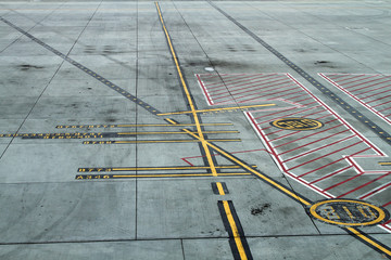 Airport Ramp Markings