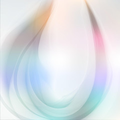 sweet wave abstract background flow soft light sky pastel vector