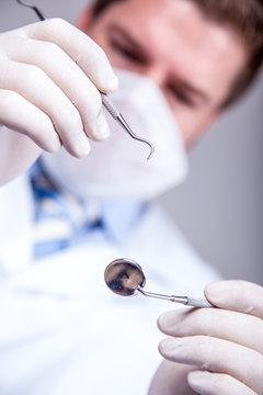 zahnarzt, Untersuchung