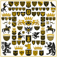 HERALDRY Crests and Symbols