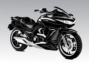 Poster Motorcycle Bike