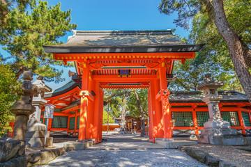 Sumiyoshi Grand Shrine in Osaka
