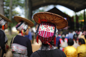 Hill tribe hat