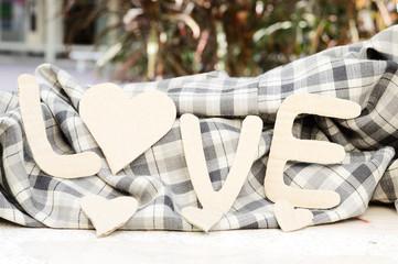 paper word love valentine's background