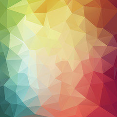 Modern colorful geometric background for web