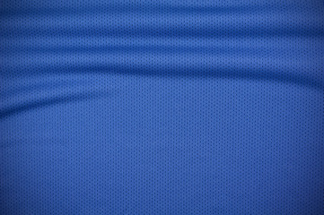 Sport jersey shirt clothing texture in blue