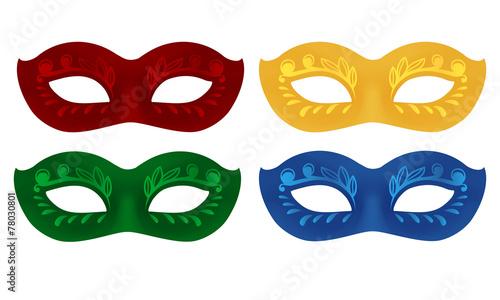 faschingsmasken 4 farben stockfotos und lizenzfreie. Black Bedroom Furniture Sets. Home Design Ideas