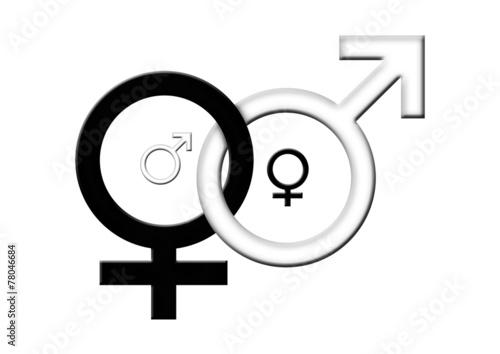 Symbol für mann und frau