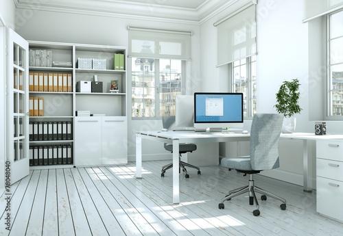 modernes b ro stockfotos und lizenzfreie bilder auf bild 78048040. Black Bedroom Furniture Sets. Home Design Ideas