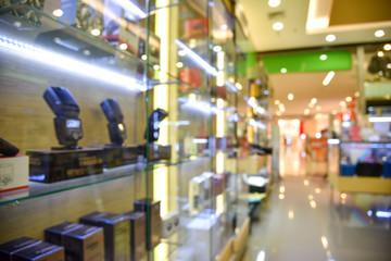 Blurred camera store