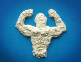 protein powder. Supplements for bodybuilders