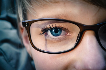 Girl's eye