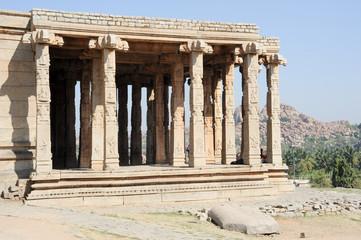 Ancient ruins of Vijayanagara Empire in Hampi