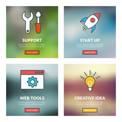 Technical support, start up, web tools, creative idea