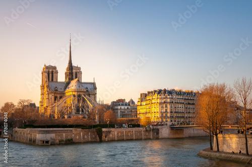 Wall mural Notre Dame Paris