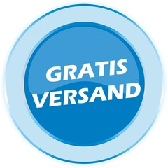 BUTTON GRATIS VERSAND
