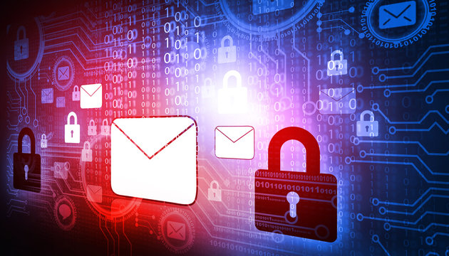 Internet Security concept..