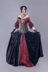 Dark gothic woman