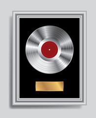 platinum LP frame
