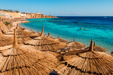 Photo sur cadre textile Egypte Red Sea coastline in Sharm El Sheikh, Egypt, Sinai