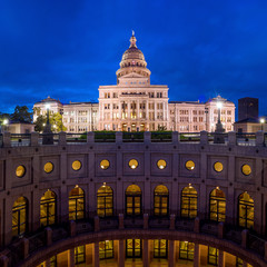 Wall Mural - Texas State Capitol Building in Austin, TX.