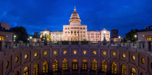 Fototapete - Texas State Capitol Building in Austin, TX.