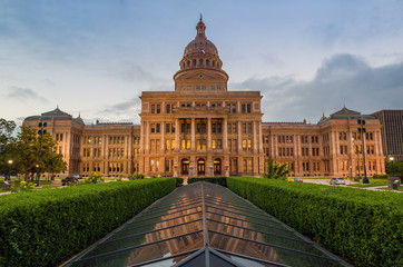 Fotomurales - Texas State Capitol Building in Austin, TX.