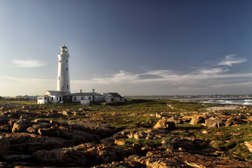 Seal Point Lighthouse in Cape St. Francis, Südafrika