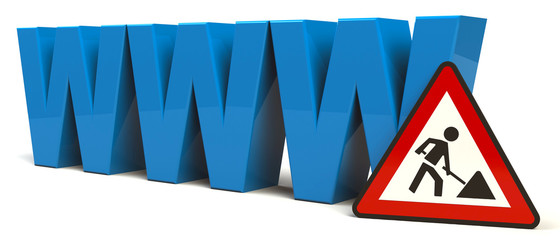 WWW Baustelle Website