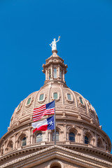 Wall Mural - Texas State Capitol Building in Austin