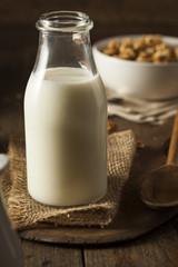 Refreshing Organic White Whole Milk