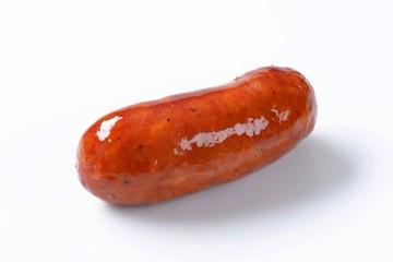 Beer glazed sausage