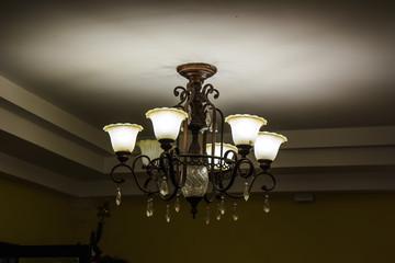 lamp metal ceiling light fixture