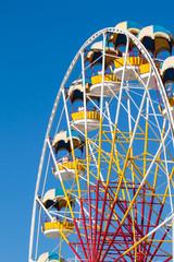 Ferris wheel on a clear day