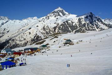 Ski resort, Dombai
