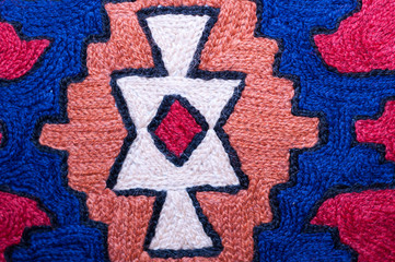 Middle-Eastern traditional pattern close up