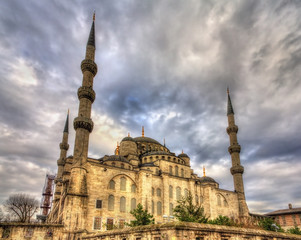 Sultan Ahmet Mosque (Blue Mosque) in Istanbul - Turkey