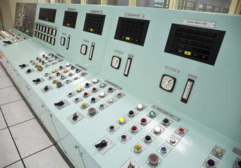 Control room of a water treatment plant