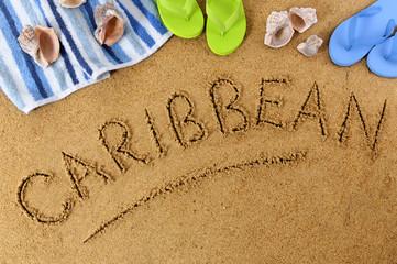 Printed kitchen splashbacks Australia Caribbean beach background