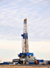 Onshore drilling rig