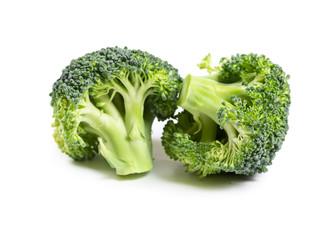 Fresh broccoli isolated