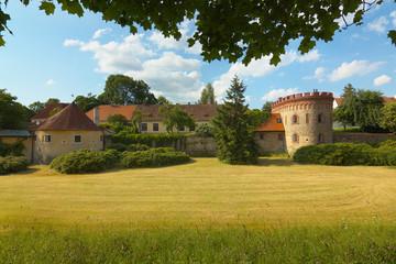 The Garden of Trebon Castle