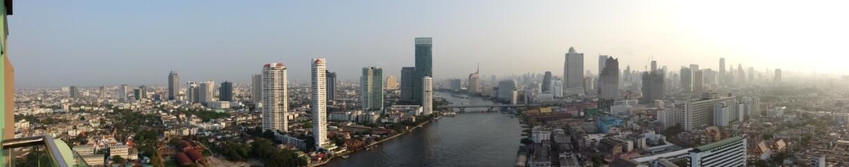 Bangkok 360grad Panorama