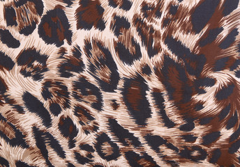abstract with leopard texture
